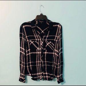 🔵thin flannel